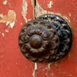 """Door Knob on Red Door"" by lainiewrightson"