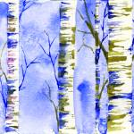 """Winter Birch"" by saraalexandermunoz"