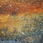 """abstract landscape created on rusty pavement"" by nathangriffith"