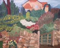 garden and house oil16x20 2000