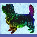"""Cairn Terrier Pop Art Sketch"" by diane"