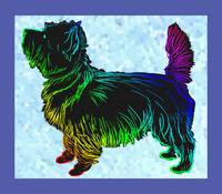 Cairn Terrier Pop Art Sketch
