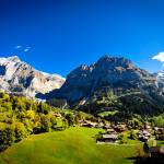 """The Alps in Grindelwald"" by johnmiddlebrook"