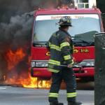 """""""Truck Fire 019"""" by Peek"""