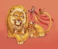 Gentle Lion and Friends