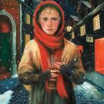 """Little Match Girl"" by FergusonArt"