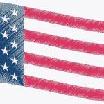 """USFLAG 3 color"" by DooDooEcon"