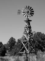 Old Wooden Windmill 6152