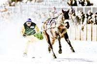 The White Turf Races at St. Moritz