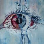 """Tear"" by huda-art"