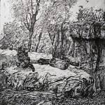 """Gorillas"" by andrewakufo"