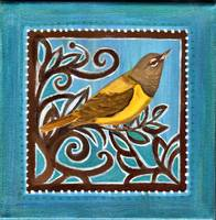 The Blue Yellow Bird 1