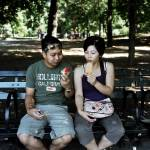 """Couple Eating Ice Cream"" by AlexRemnick"