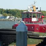 """Red Tugboat"" by yourpictureshop"