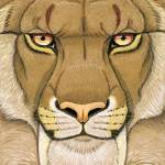 """Smilodon - Prehistoric Series"" by smbittler"