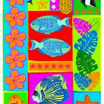 """Tropical Reef Fish"" by DezineZone"