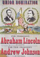 Electoral campaign poster for Abraham Lincoln