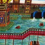 """Futuristic City"" by andrewakufo"