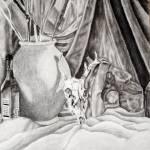 """""""Deer Skull Still Life"""" by andrewakufo"""