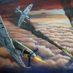 """Battle of Britain"" by RCMcSpaddenArtStudio"