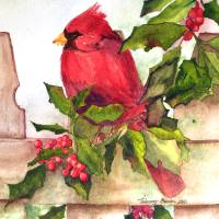 christmas2010 Art Prints & Posters by Tammy Burke