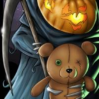 Uncle Pumpkinhead Art Prints & Posters by Laurie Ellis