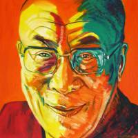 Dalai Lama Art Prints & Posters by Lisa Andrews