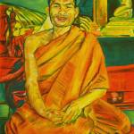 """Smiling Monk"" by LisaAndrews"