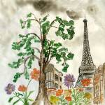 """Paris in the spring"" by BrushMarQ"