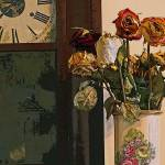 """Dead Roses and Old Clock"" by bill_kerr"