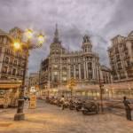 """""""Stormy Dusk @ Plaza de Canalejas"""" by servalpe"""