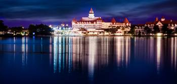Grand Floridian Reflection