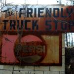 """Friendly Truck Stop"" by LauraMoyer"