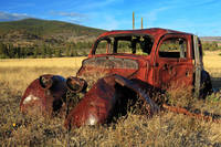 Old Car At Susanville Ranch
