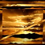 """""""Sunset Window Abstract"""" by Attentiongetters"""