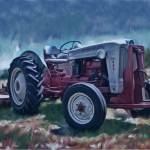 """The Old Tractor (dp)"" by RicKarr"