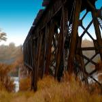 """Trestle Bridge ( Chipman)"" by RicKarr"