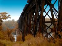 Trestle Bridge ( Chipman)