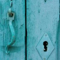 Blue Door Art Prints & Posters by Diana Strangfeld