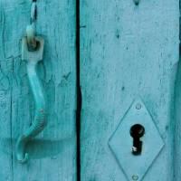 Blue Door Art Prints & Posters by Diana Strangfeld