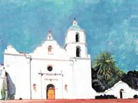 Mission San Luis Rey Oceanside California