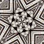 """Vintage Gas Pump Kaleidoscope ck7"" by w3imagery"