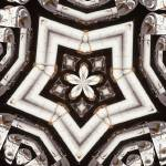 """Vintage Gas Pump Kaleidoscope ck10"" by w3imagery"