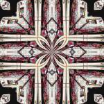 """Kaleidoscopic variation on Vintage Gas Pump CV1k3"" by w3imagery"