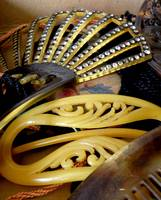 Vintage Combs and Barrettes
