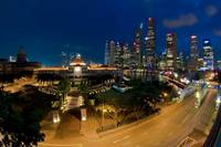 Singapore Parliament House & Boat Quay