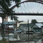 """""""sauvie island bridge & marina"""" by mkphotopdx"""