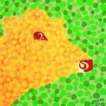 """The Orange Cow"" by alanhogan"