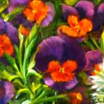 """Giverny Pansies"" by TheExecutiveGarden"