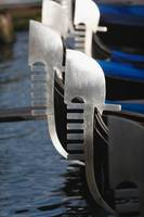 Close Up Views of Gondola Bows